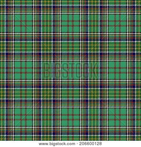 Tartan Seamless Pattern Background. Red Black Blue Green Gold and White Plaid Tartan Flannel Shirt Patterns. Trendy Tiles Vector Illustration for Wallpapers.
