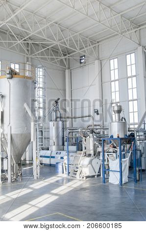 Factory For The Production Of Pet Plastic Granules