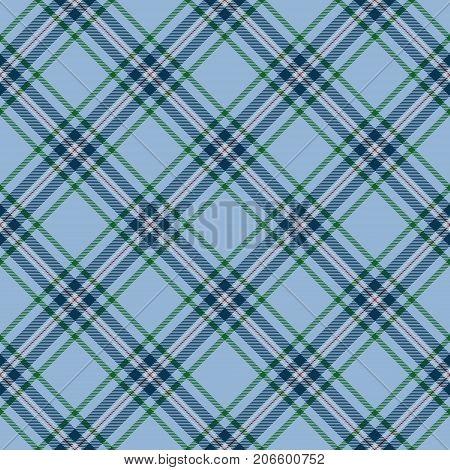 Tartan Seamless Pattern Background. Blue Green Red and White Plaid Tartan Flannel Shirt Patterns. Trendy Tiles Vector Illustration for Wallpapers.