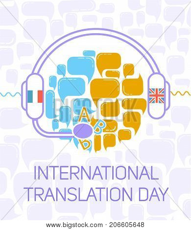 Greeting Card.  International Translation Day