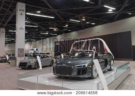 Audi R8 R8 Spyder On Display