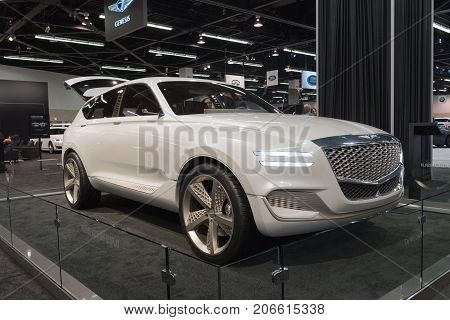 Genesis Gv80 Concept On Display