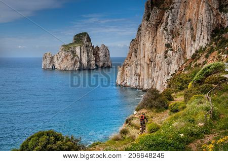 Sardinia Between Mountains And Sea - Riding Mountain Bike, Masua Beach And Pan Di Zucchero