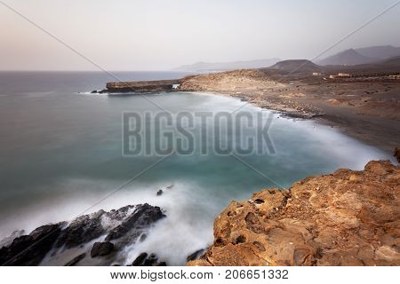 Fuerteventura Coastline Long Exposure