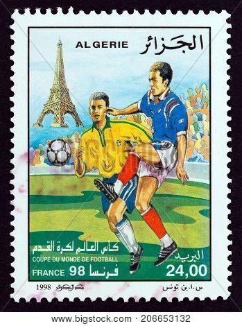 ALGERIA - CIRCA 1998: A stamp printed in Algeria from the