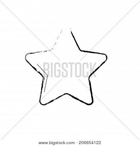 figure nice star spartly design icon vector illustration