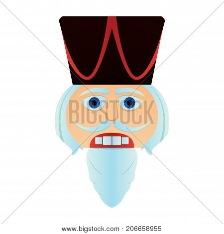 Nutcracker Soldier Face