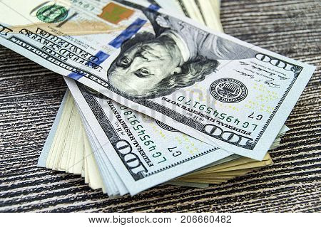 USA dollars, USA $ 100, old and new 100 dollar pictures, great dollar pictures in different concepts for finance and stock exchange sites, the most exclusive 100 dollar pictures