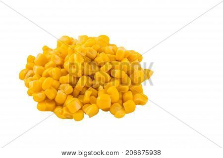 You can use a mound of these bright grains to advertise corn