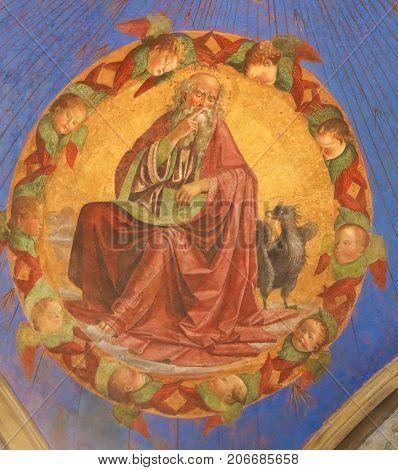Fresco In San Gimignano - John The Evangelist