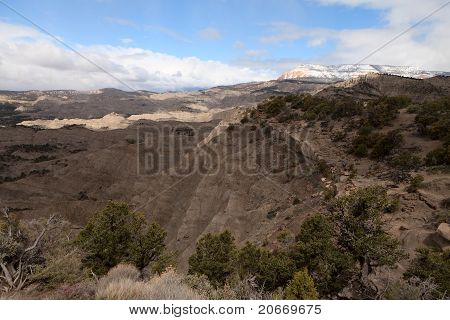 Mountain Erosion In Utah, Usa