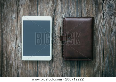 Organizer And Tablet
