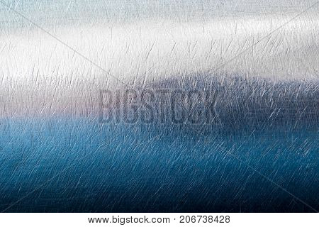 Shiny Surface And Scratched On Stainless Steel