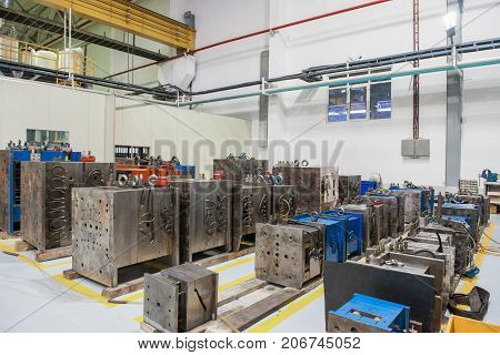 Warehouse Storage Of Molds And Tools