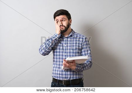 Man With Textbook