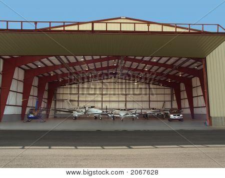 Hangar Full Of Toys