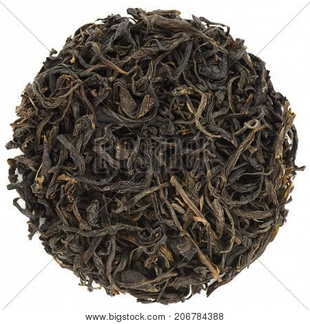 Ye Jian Hand Roasted Hei Cha dark Tea isollated