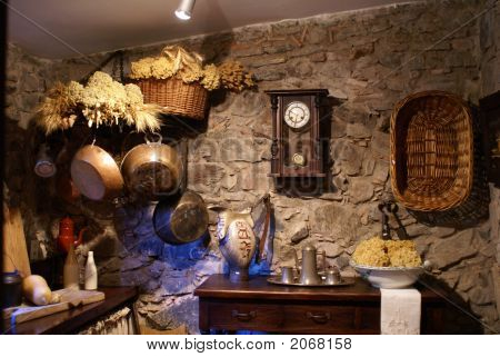 Old Fashioned Kitchen And Utensils