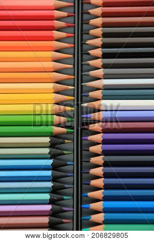 Brand new unused color pencils in box