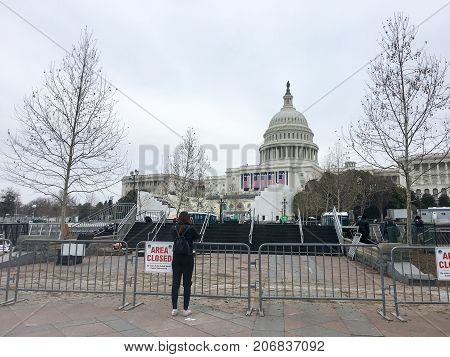 Protest On Capitol Hill