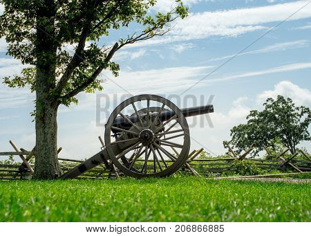 Cannon From Civil War