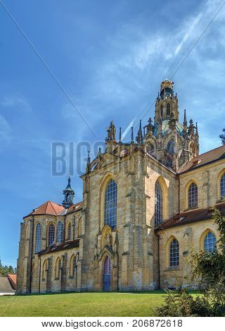 Church of the Assumption of the Virgin Mary (Giovanni Battista Santini architect) in Abbey of Kladruby Czech republic