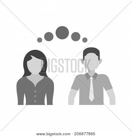 Empathy, support, compassion icon vector image. Can also be used for soft skills. Suitable for mobile apps, web apps and print media.