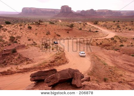 The Road Of Red Sand