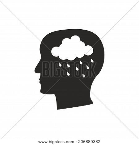 Depression Mental Disease Icon