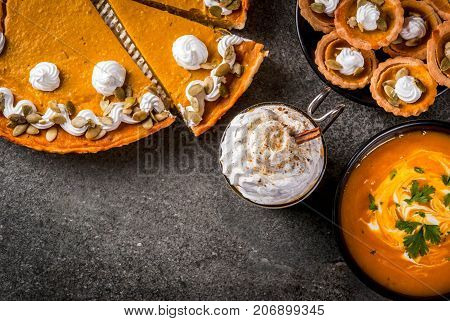 Set Of Pumpkin Dishes