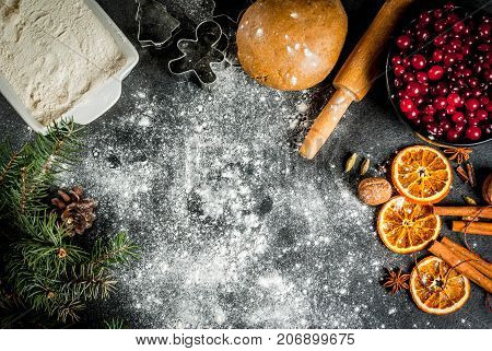 Ingredients For Christmas Baking