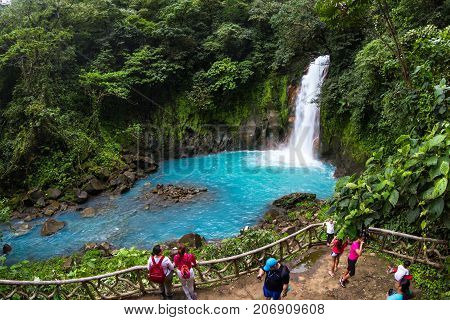 Visiting Rio Celeste, Costa Rica