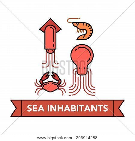 Sea Food Icons