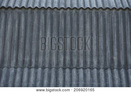 Gray texture of a slate roof fragment