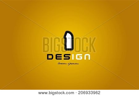 1 Number Numeral Digit White On Yellow Background