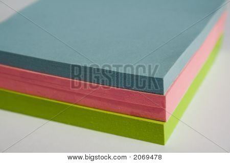 Pad Of Sticky Notes