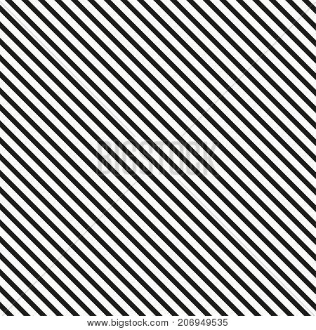 Diagonal lines pattern. Seamless lined background. Vector illustration.