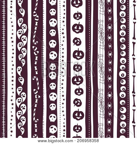 White And Pirple Seamless Background Abstract Striped Pattern Fo