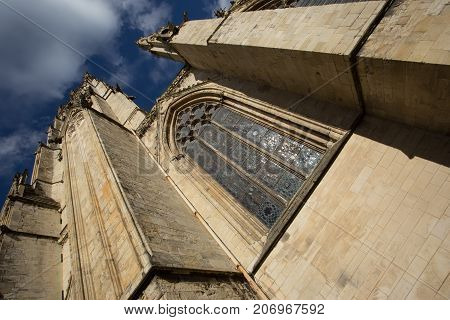 York Minster Cathedral and Stained Glass Window, Yorkshire