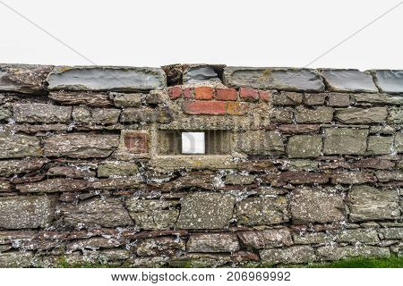 Wwii Loopholed Wall