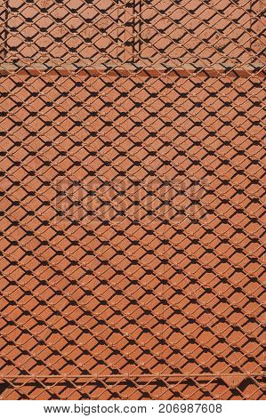 background in the form of an old mesh screen mesh