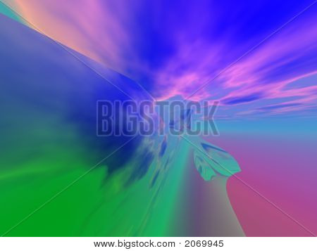 Abstract Organic Background