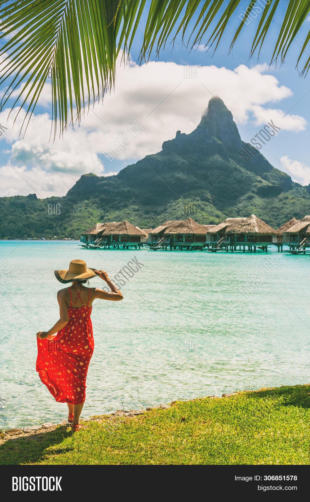 Tahiti Resort Travel Image Photo Free Trial Bigstock