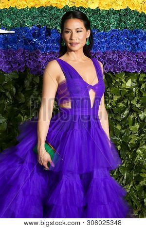 NEW YORK-JUN 9: Lucy Liu attends the 73rd Annual Tony Awards on June 9, 2019 at Radio City Music Hall in New York City.