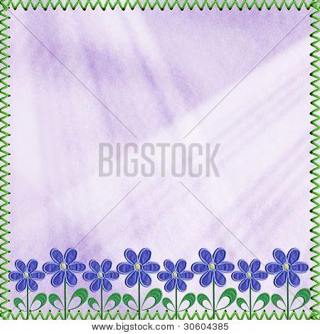 Vintage Textile Background For A Design.