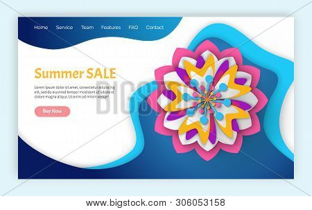 Summer Sale Discounts Vector, Sellout And Special Sale For Customers Of Shops, Purchases And Prices