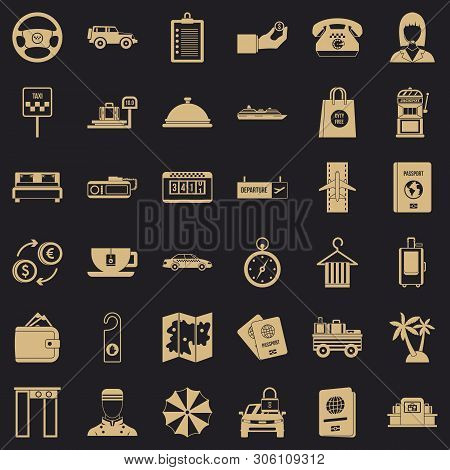 Loot Icons Set. Simple Set Of 36 Loot Vector Icons For Web For Any Design