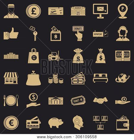 Financial Incentives Icons Set. Simple Set Of 36 Financial Incentives Vector Icons For Web For Any D
