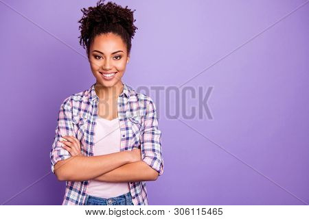Portrait Of Her She Nice-looking Charming Cute Winsome Attractive Lovely Cheerful Cheery Wavy-haired