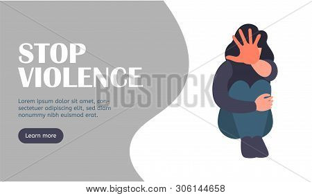 Stop Harrasment. Landing Page. Stop Violence And Bullying Website. Social Issues, Abuse And Aggressi